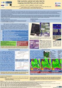 i-Sea, Sentinel2, habitats, poster